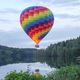 Tävla i att flyga luftballong
